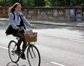 An average working day in the Netherlands sees 5m people make 14m cycle journeys