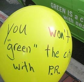 """""""Greed isn't good... Greenwash is"""". - John Peters"""